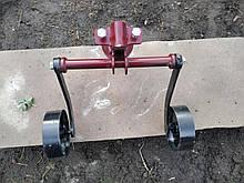 Зчіпка універсальна з опорними колесами (42 см) БелМет