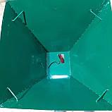 Разбрасыватель ручной универсальный РРУ-55/2 (для соли,песка,удобрений), фото 3