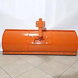 Лопата відвал до мотоблоку Булат (1,5 м, для мотоблоків з повітряним і водяним охолодженням, знімне кріплення), фото 2