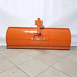 Лопата відвал до мотоблоку Булат (1,5 м, для мотоблоків з повітряним і водяним охолодженням, знімне кріплення), фото 3