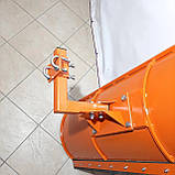 Лопата відвал до мотоблоку Булат (1,5 м, для мотоблоків з повітряним і водяним охолодженням, знімне кріплення), фото 7