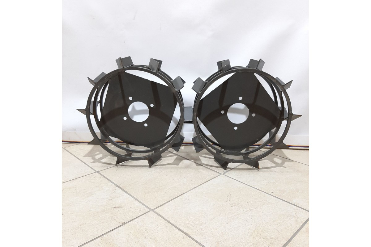 Колеса з грунт-ми 400/160 (10*10) СТАНДАРТ (3 мм) Булат