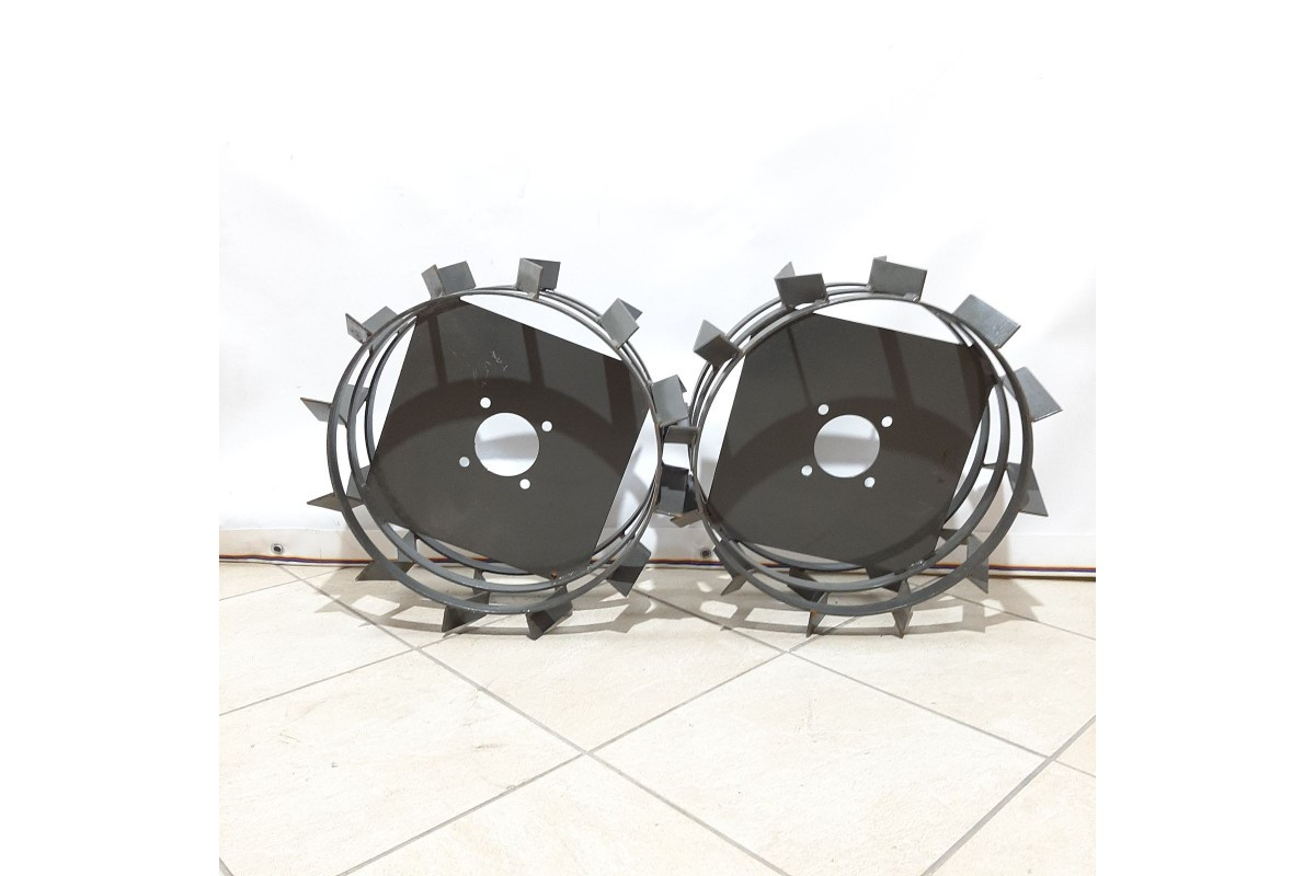 Колеса з грунт-ми 400/160 (10*10) СТАНДАРТ (3 мм) Євро Булат