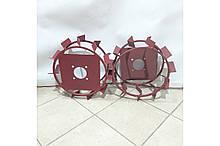 Колеса с грунтозацепами 380/160 (10*10, культиватор) Евро Булат