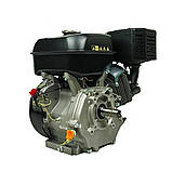 Двигун бензиновий Weima WM188F-S (13 к. с., шпонка 25 мм), фото 3