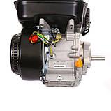Двигун бензиновий Weima WM170F-L (R) NEW з редуктором (шпонка, вал 20 мм, 1800 об/хв, резервуар 5 л, 7.5 л. з), фото 4