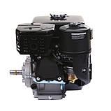 Двигун бензиновий Weima WM170F-L (R) NEW з редуктором (шпонка, вал 20 мм, 1800 об/хв, резервуар 5 л, 7.5 л. з), фото 8