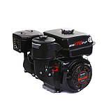 Двигун бензиновий Weima WM170F-L (R) NEW з редуктором (шпонка, вал 20 мм, 1800 об/хв, резервуар 5 л, 7.5 л. з), фото 9