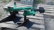Плуг 2-х корпусний з опорним колесом ТМ ШИП для важких мотоблоків