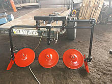 Косилка роторная КР-06 ШИП (для мотоблоков без ремня)