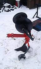 Картоплесаджалка оборотна БелМет для мотоблока (посилена, опорне колесо)