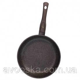 Сковорода Биол Граніт браун з антипригарним покриттям і знімною ручкою 28 см 28133П