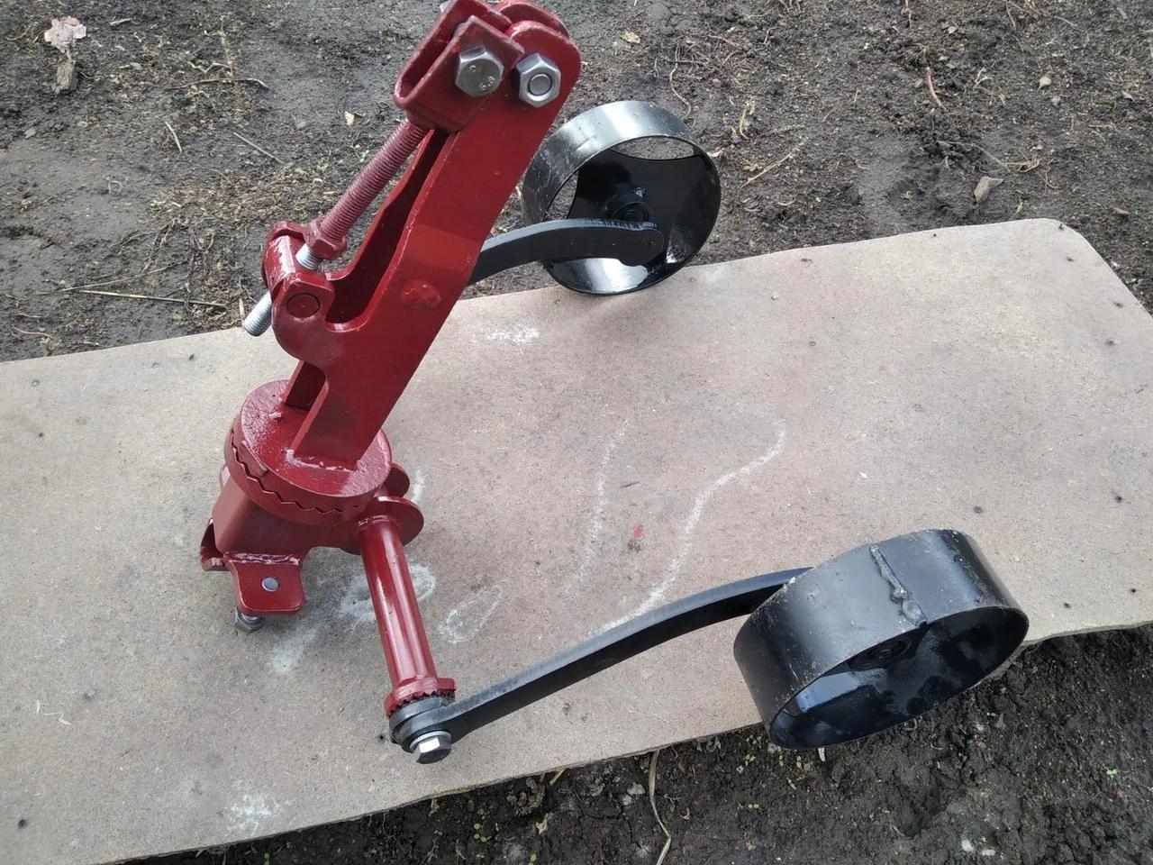 Сцепка универсальная с опорными колесами (70 см) БелМет
