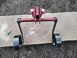 Сцепка универсальная с опорными колесами (70 см) БелМет, фото 2