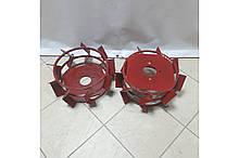 Колеса с грунтозацепами 380/160 (10*10, культиватор УСИЛЕННЫЕ) Булат