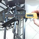 Грунтозацепи 800/130 (10*10 мм, воздушка/водянка) М'ЯКИЙ ХІД Булат, фото 6
