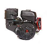 Двигун бензиновий Weima WM192FЕ-S ЄВРО 5 (шпонка, 18 л. с., електростартер), фото 2