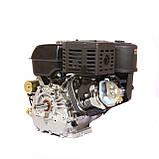 Двигун бензиновий Weima WM192FЕ-S ЄВРО 5 (шпонка, 18 л. с., електростартер), фото 3