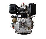 Двигатель дизельный WEIMA WM195FE (15 л.с., вал под шпонку 25 мм), фото 2