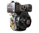Двигатель дизельный WEIMA WM195FE (15 л.с., вал под шпонку 25 мм), фото 3
