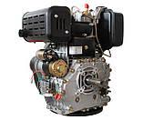 Двигатель дизельный WEIMA WM195FE (15 л.с., вал под шпонку 25 мм), фото 6
