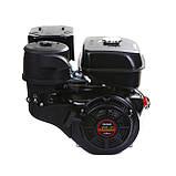 Двигун бензиновий Weima WM190F-S ЄВРО 5 (шпонка, 25 мм, 16 л. с., ручний стартер), фото 3