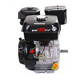 Двигун бензиновий Weima WM190F-S ЄВРО 5 (шпонка, 25 мм, 16 л. с., ручний стартер), фото 4