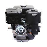 Двигун бензиновий Weima WM190F-S ЄВРО 5 (шпонка, 25 мм, 16 л. с., ручний стартер), фото 6