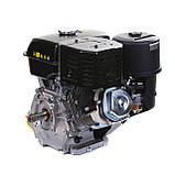 Двигун бензиновий Weima WM190F-S ЄВРО 5 (шпонка, 25 мм, 16 л. с., ручний стартер), фото 7