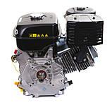 Двигун бензиновий Weima WM190F-S ЄВРО 5 (шпонка, 25 мм, 16 л. с., ручний стартер), фото 8