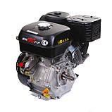 Двигун бензиновий Weima WM190F-S ЄВРО 5 (шпонка, 25 мм, 16 л. с., ручний стартер), фото 9