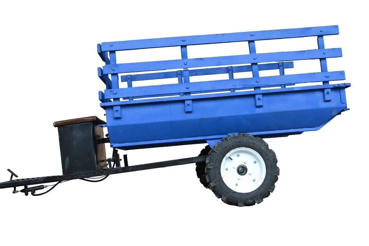 Прицеп 120х105  для МоторСич БелМет (самосвал, 600 кг)