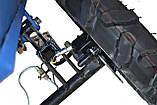 Прицеп 120х105  для МоторСич БелМет (самосвал, 600 кг), фото 3
