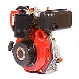 Двигатель дизельный Weima WM178F (вал под шлицы) 6.0 л.с., фото 2