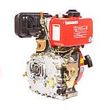 Двигатель дизельный Weima WM178F (вал под шлицы) 6.0 л.с., фото 6