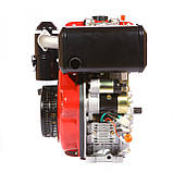 Двигун дизельний Weima WM186FBES (R) 9.5 л. с. (шпонка, 1800об./хв) + редуктор, фото 3
