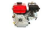 Двигун бензиновий WEIMA BT170F-Т/20 (для WM1100) (шліци 20 мм) 7 л. с., фото 3
