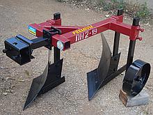 Плуг 2-х корпусный 219 с опорным колесом Каменец для тяжелых мотоблоков