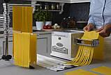 Паста-міксер з мотором Marcato Pasta Fresca (тістоміс-локшинорізка-тестораскатка) Італія, фото 5