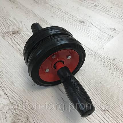 Двойной ролик для пресса, колесо для пресса, металлический  ролик на подшипнике, фото 2