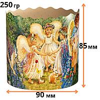Формы для Пасхи бумажные 250гр (85*90) Ассорти, 50 шт/уп