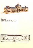 Vollmer 43560 Модель прекраснейшего Железнодорожного вокзала Baden-Baden в масштабе 1/87, фото 2