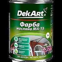 Фарба масляна МА-15 DekArt біла 1,0 кг