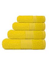 Полотенца для гостиниц лимонного цвета, фото 2