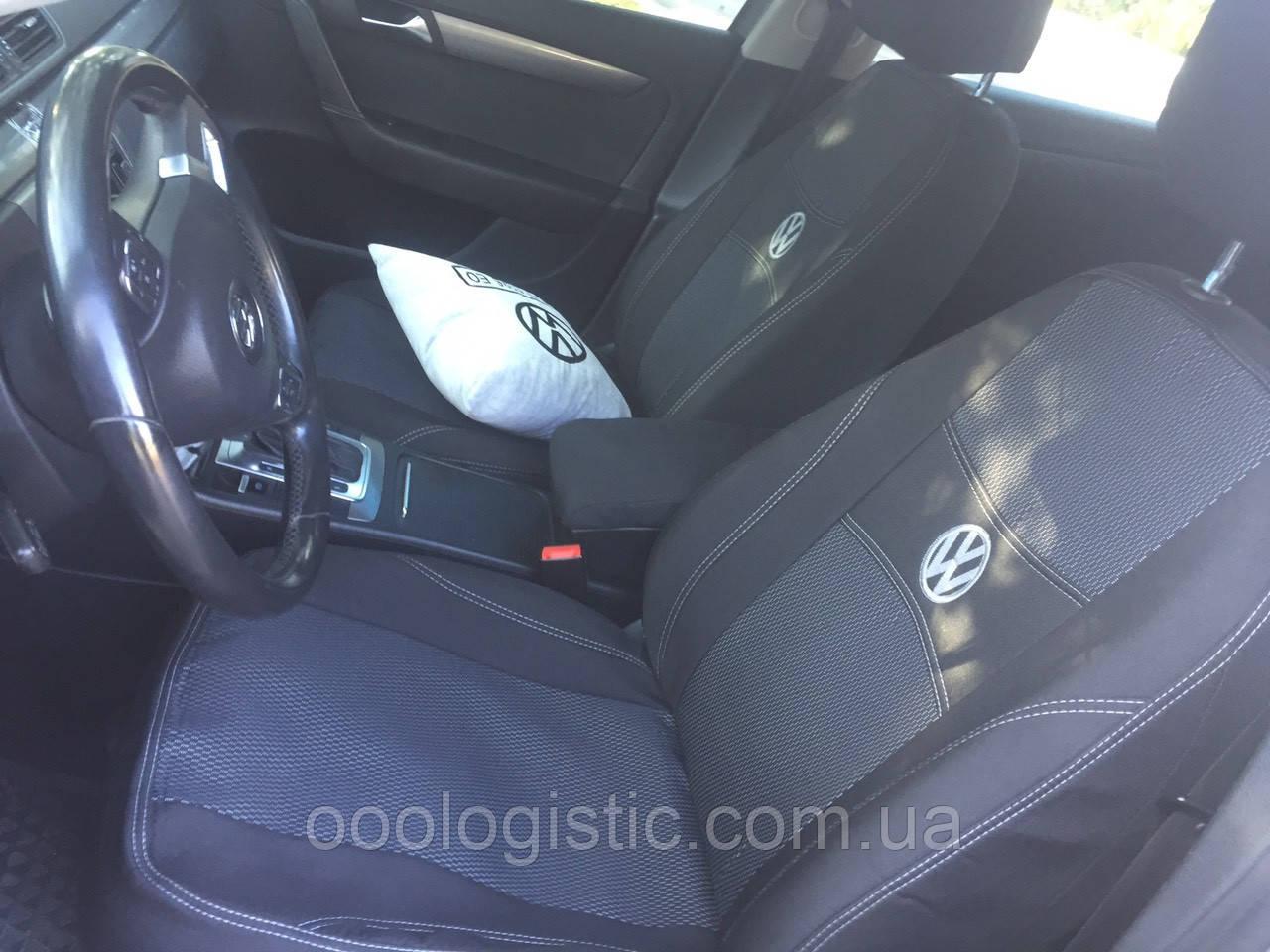 Авточехлы на Volkswagen Caddy 3 2004-2010, от 2010 года  , 7 мест Nika