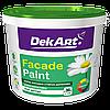 Faсade Paint Фарба фасадна DekArt біла матова 6,3 кг