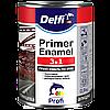 Грунт-эмаль на ржавчину 3 в 1  Delfi белая 0,9 кг