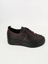 Туфли женские черные Ripka Турция летние арт 087-816-1-20TH модель 4986