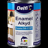 Эмаль алкидная ПФ-115 П  Delfi салатовая 0,9 кг
