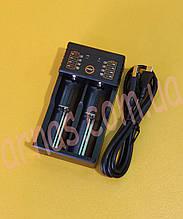 Зарядное устройство для аккумуляторов двойное (18674-3)